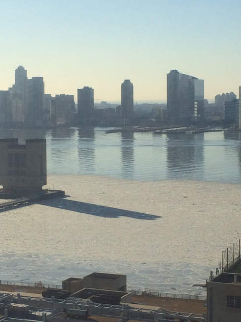 The Hudson Frozen